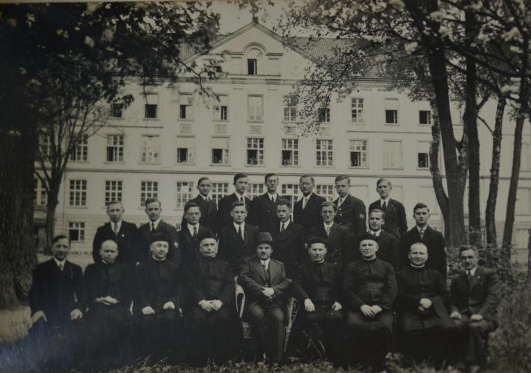 Uczniowie w Górnej Grupie